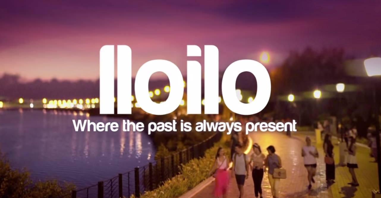 Iloilo Esplanade at night  Where the past is always present