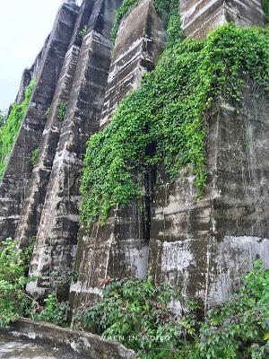 View Below the ruins