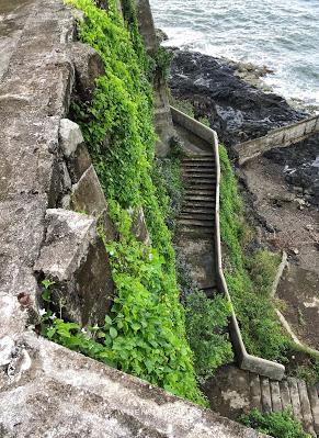Ruins of Alcatraz View Below