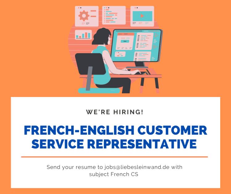 French-English Customer Service representative