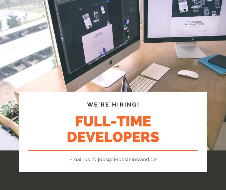 Hiring Web developers